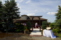 outdoor wedding buffalo