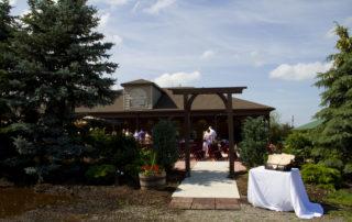 outdoor wedding buffalo